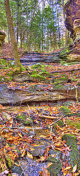 Sam Davis Johnson - Bark Camp Creek Falls