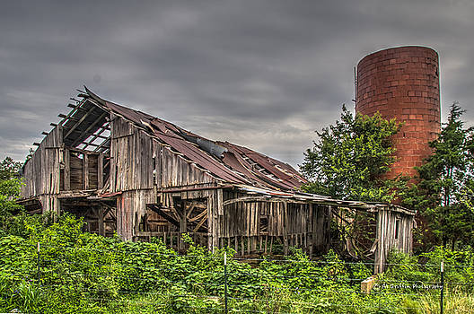 Barn and Silo by Al Griffin