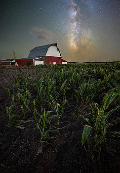 Barn Astronomy 2  by Aaron J Groen