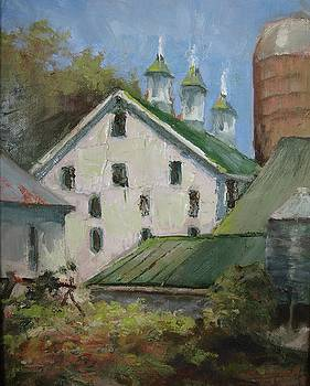 Barn At Malabar by Sharon Weaver