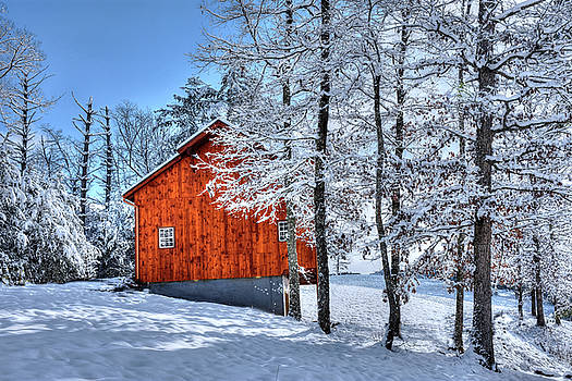 Barn at Milhouse Ridge  by Tim Ford
