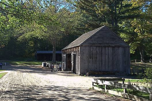 Barn at Old Sturbridge Village by Mike McCool