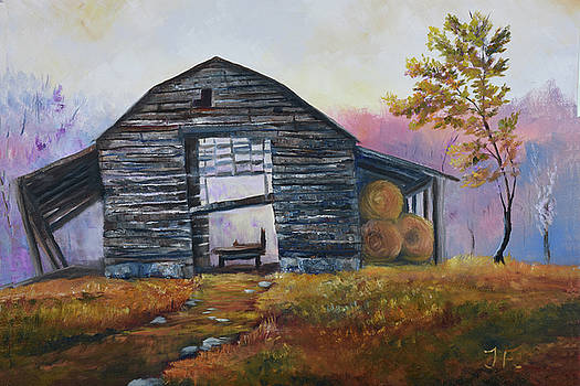 Barn at Peachtree Creek by Tim Ford