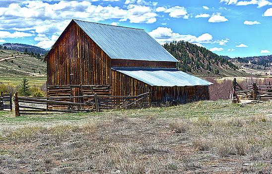 Barn at Powderhorn by Jeffrey Hamilton