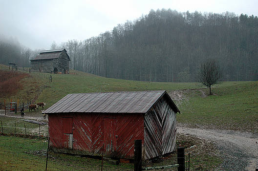 Barn at Stecoah by Kathy Schumann