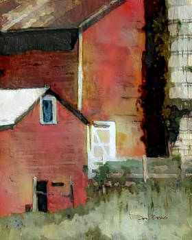 Barn Boards One by Don Berg