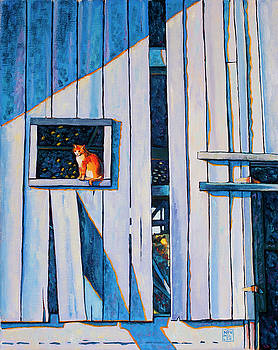 Barn Cat by Stacey Neumiller