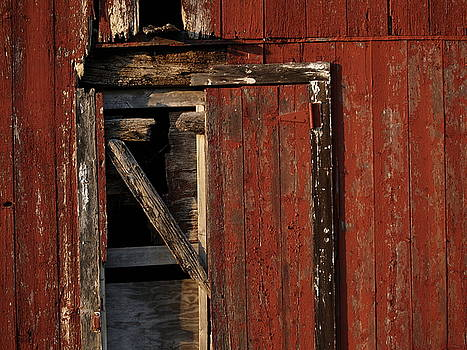 Barn Door by Valerie Morrison