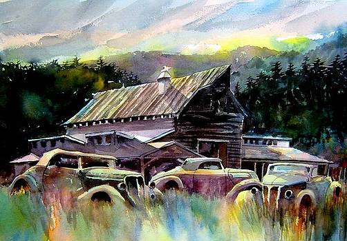 Barn Fresh Cabriolets by Ron  Morrison
