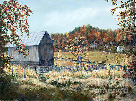 Barn from Long Ago by Janet Felts