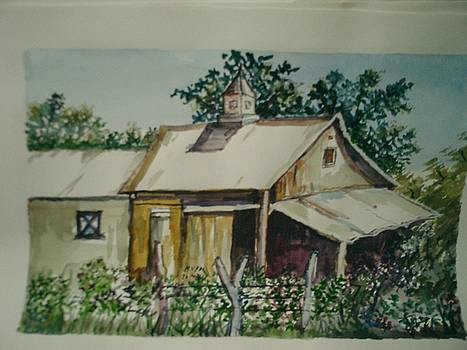 Barn by Ganesh Pai