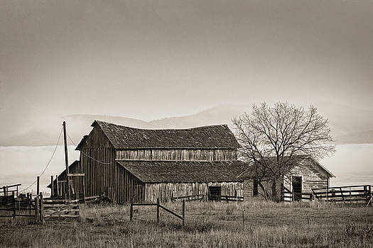 Barn in the Valley by Scott Wheeler