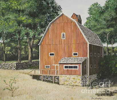 Barn in the Woods by Timothy Spongberg