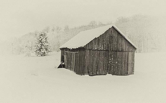 Andrew Wilson - Barn in Winter