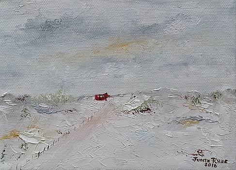 Barn in Winter by Judith Rhue
