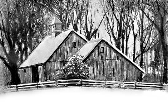 Barn in Winter by William Hay
