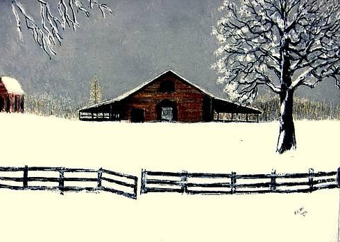 Barn by Kent Whitaker