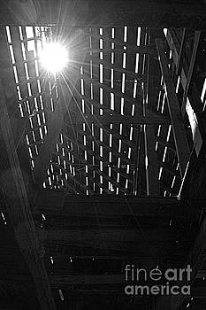 Barn Light by Kathy M Krause