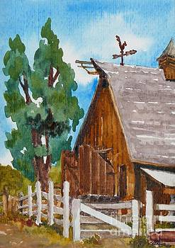 Barn - Littleton Historical Museum by Cheryl Emerson Adams