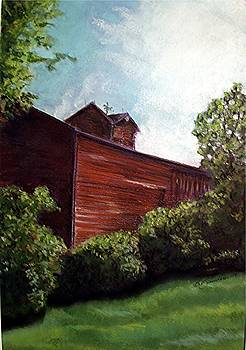 Barn on 9 L by Bev Saunders