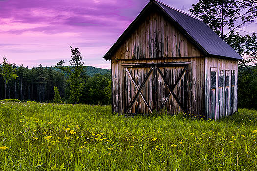 Barn on a Hill by Connor Koehler