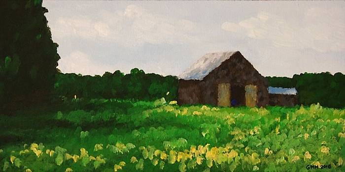Barn on Campground Lane by Glenn Harden