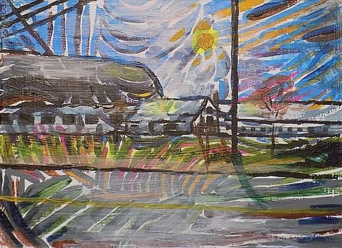 Barn on Dresser Hill  by Tara Stephanos