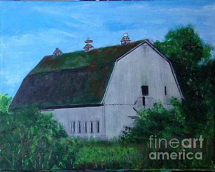 Barn on Rte 12E by Joel Charles