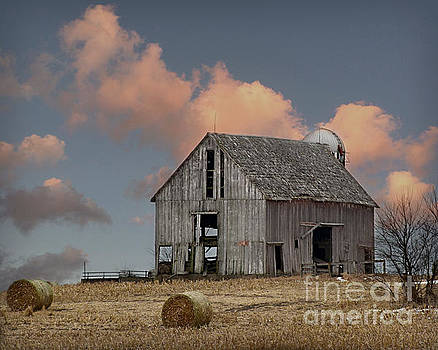 Barn On The Hill by Kathy M Krause