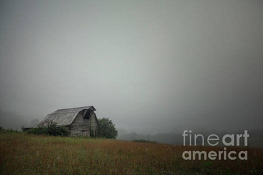 Barn on the hill by Tim Wemple