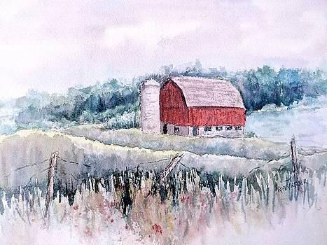 Barn on Weinman Road by Carolyn Rosenberger