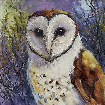 Barn Owl 1 by Tracie Thompson