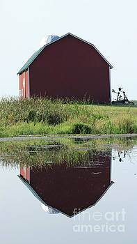 Barn Reflections by Erick Schmidt