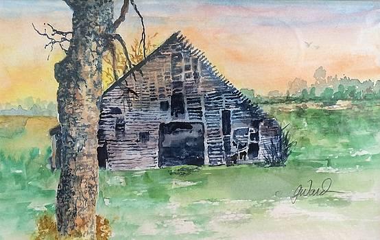 Barn Study #3 by Glen Ward