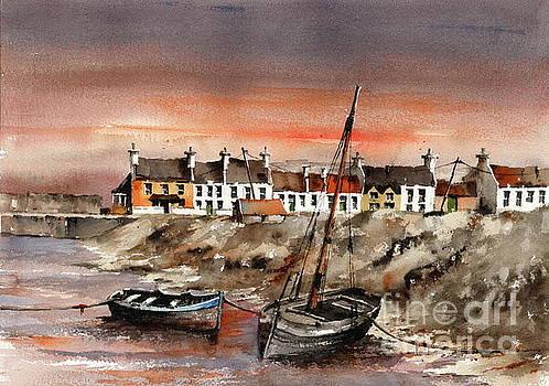 Val Byrne - Barna sunset, Galway...x114