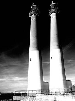 John Rizzuto -  Barnegat Lighthouse Double Exposure