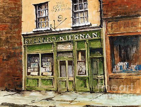 Val Byrne - F  719 Barney Kiernans Pub, Dublin