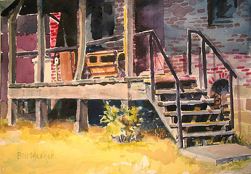 Barns Of Chetopa - 2 by Bill Meeker