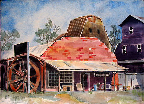Barns Of Chetopa - 3 by Bill Meeker