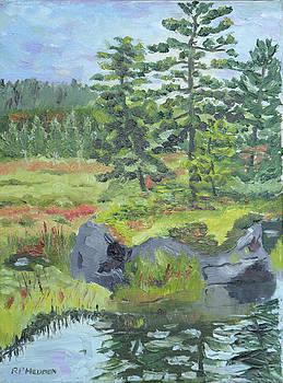 Barnum Brook Daybreak by Robert P Hedden
