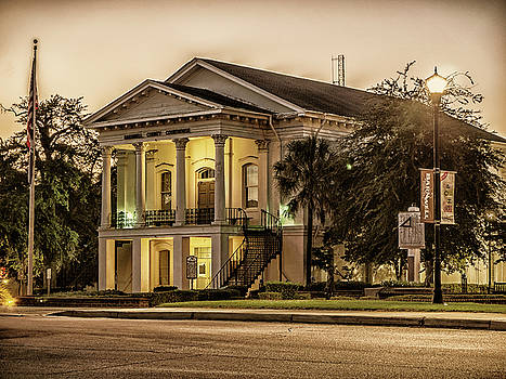 Barnwell Courthouse vintage by David Palmer