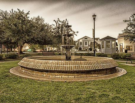 Barnwell Fountain by David Palmer