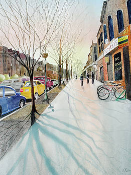 Barracks Row I by Kay Fuller