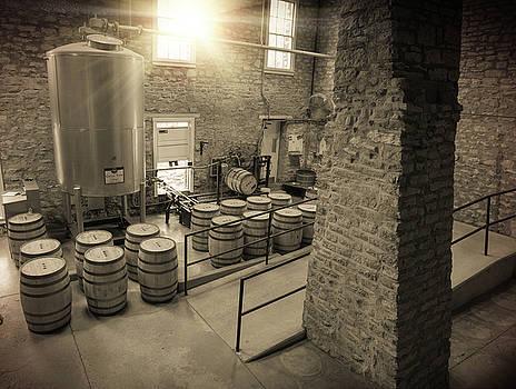 Barrel Filling Room by Karen Varnas
