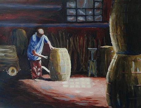 Barrel maker by Mats Eriksson