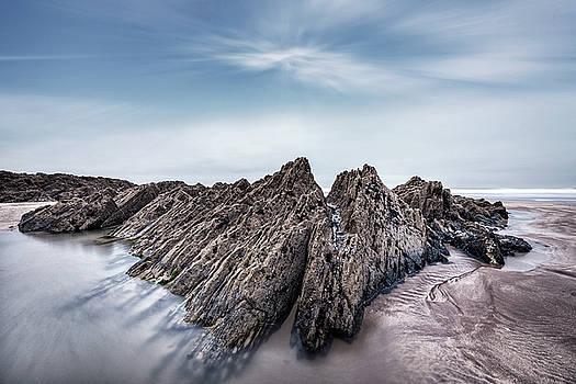 Barricane Beach - England by Joana Kruse