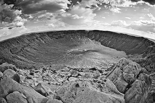 Barringer Meteor Crater #2 by Robert J Caputo
