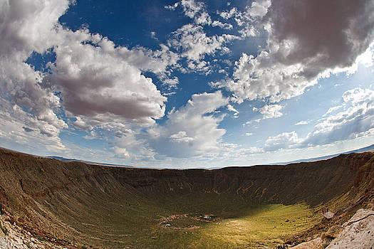 Barringer Meteor Crater #4 by Robert J Caputo