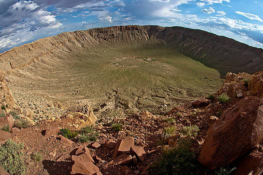 Barringer Meteor Crater #8 by Robert J Caputo