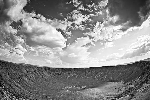 Barringer Meteor Crater by Robert J Caputo